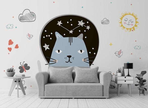 Кот — мечтатель