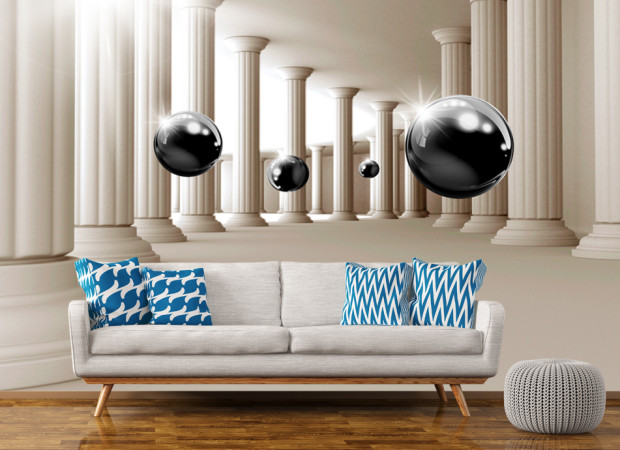 шары и колонны