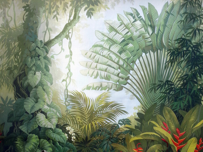 Фотообои Непроходимые джунгли