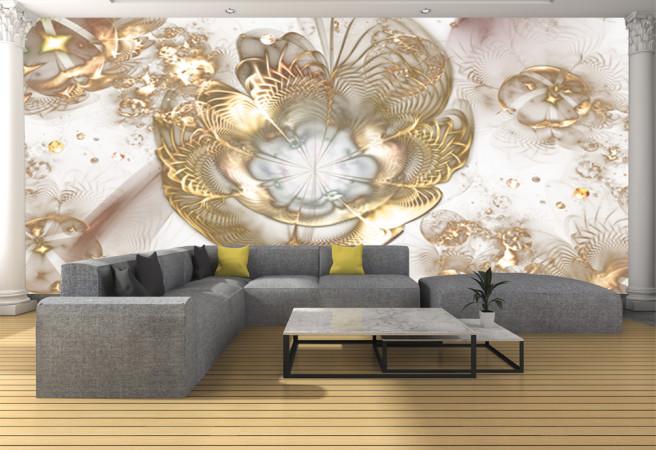 золоты цветы