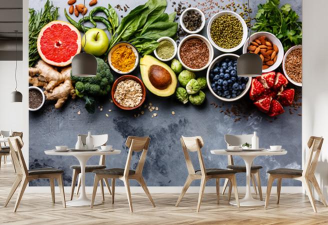 Фотообои овощи и специи