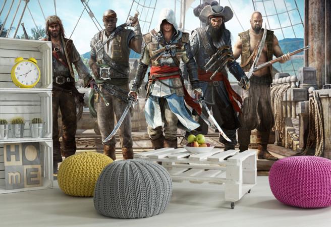 Фотообои ассасин и пираты