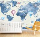 Карта с воздушными шарами