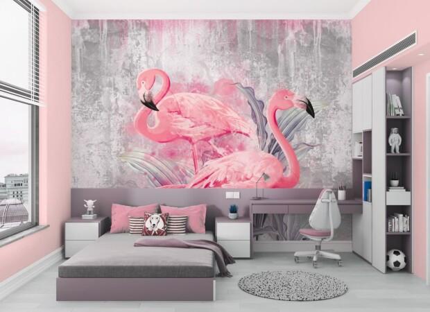 дизайнерские фламинго