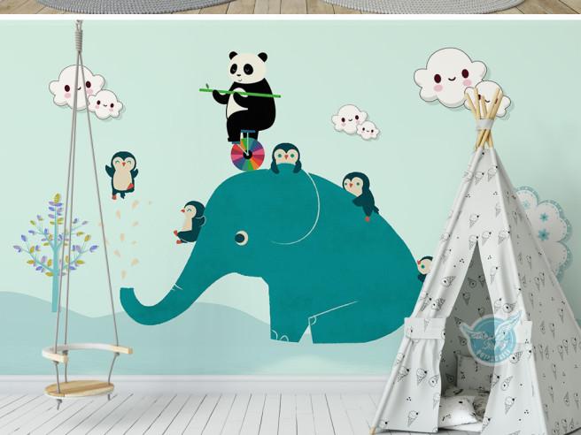 Цирк на слоне