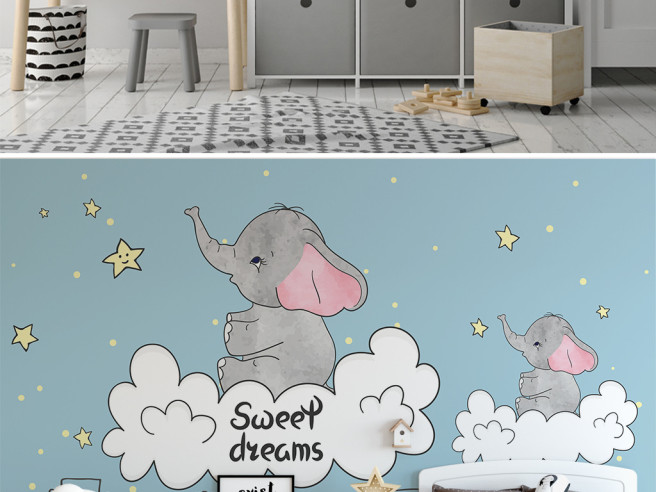 Слоники на облаке