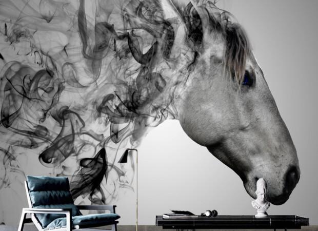 Конь из дыма