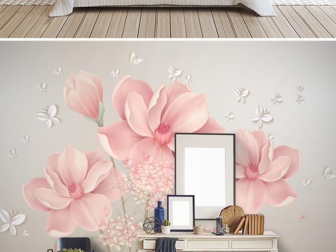 Фотообои Розовая нежность