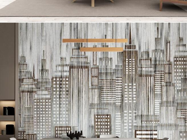 Фотообои Высотные здания