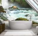 Скалистый водопад