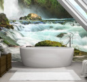 Фотообои Скалистый водопад