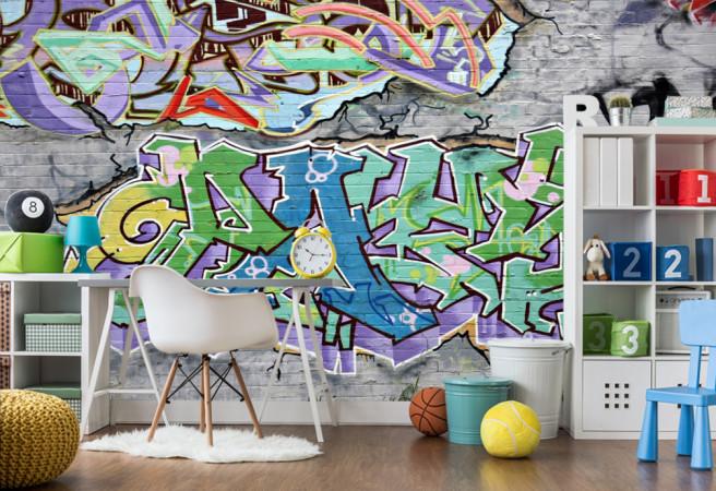 Фотообои Граффити
