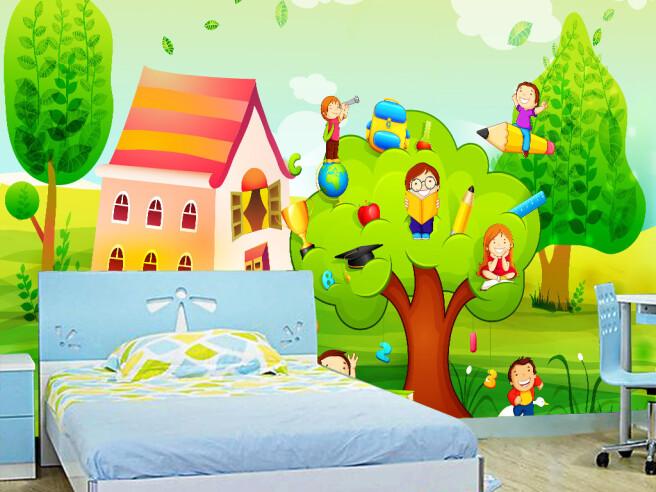 Школьники на дереве