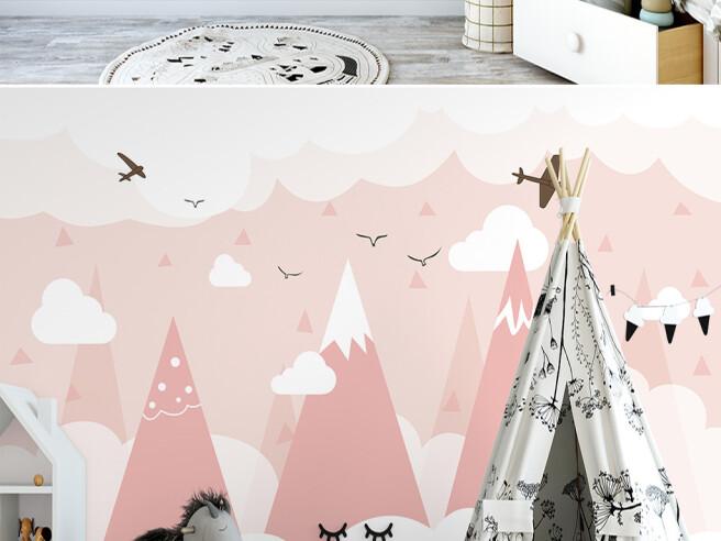 Самолеты над розовыми горами
