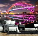 Фотообои малиновый мост