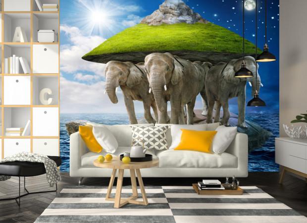 планета и слоны