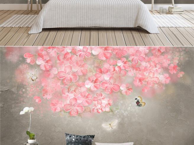 Фотообои Волшебные розовые цветы