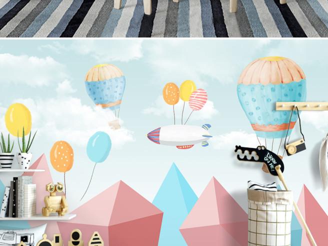 Фотообои Дирижабль на шариках