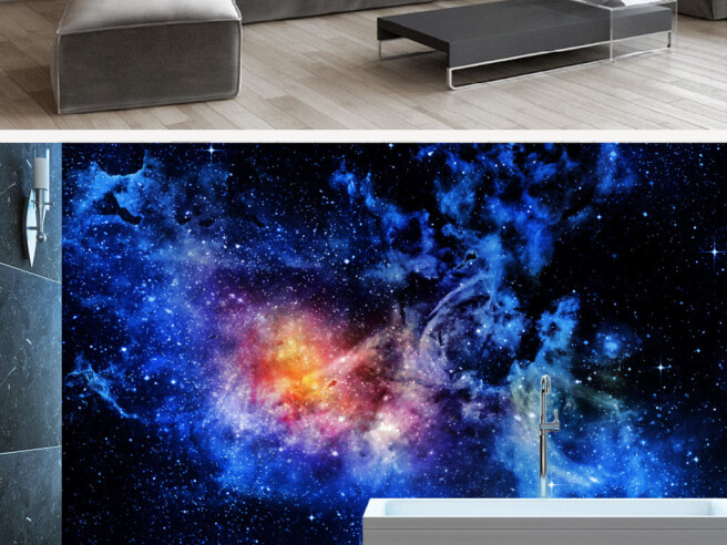 Туманность в космосе