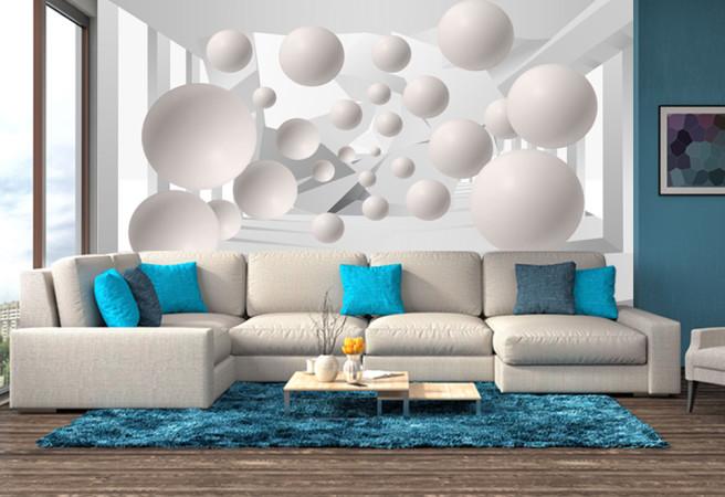 Фотообои 3D шары