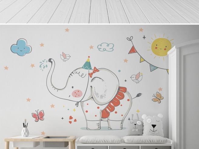 День рождения слоника