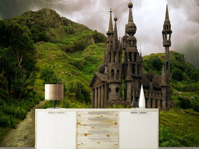 Фотообои Замок на горе