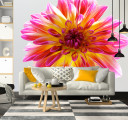 Фотообои Цветок на светлом фоне