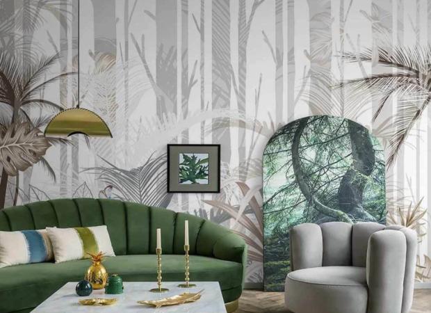 хвойный и тропический лес