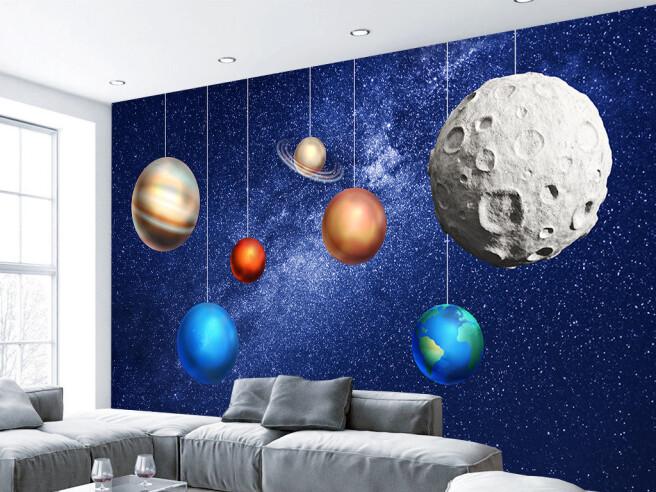 Фотообои Планеты-игрушки