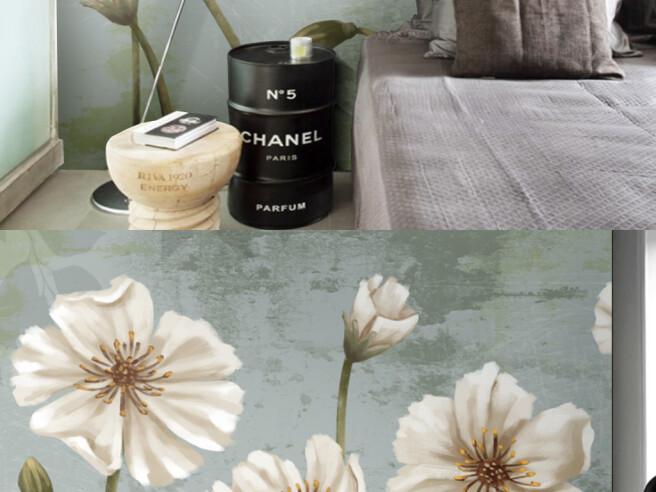 Фотообои Светлые цветы