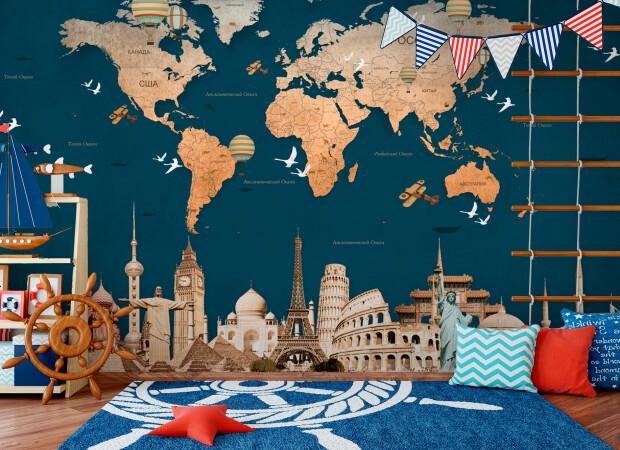 Синяя карта «Вокруг света»