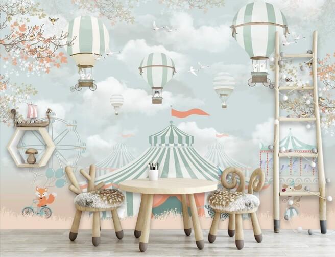 Фотообои цирк шапито