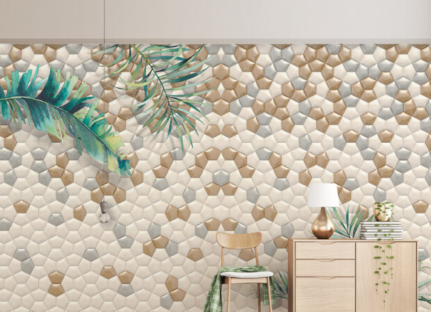 Рельефные стены