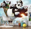 Фотообои кунг-фу панда
