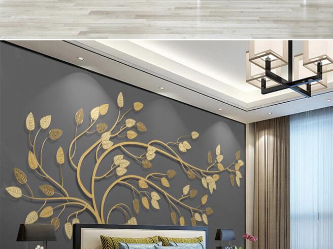 Фотообои Золотое дерево