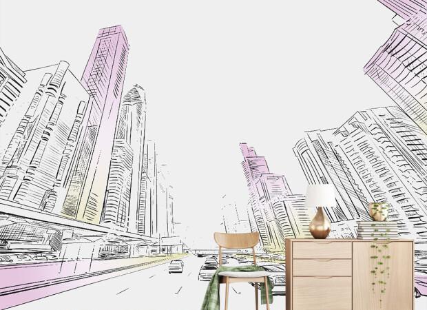 Эскиз города
