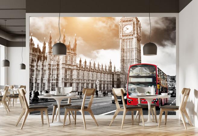 Фотообои Лондонский автобус