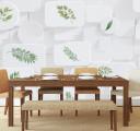 Фотообои зеленые листики