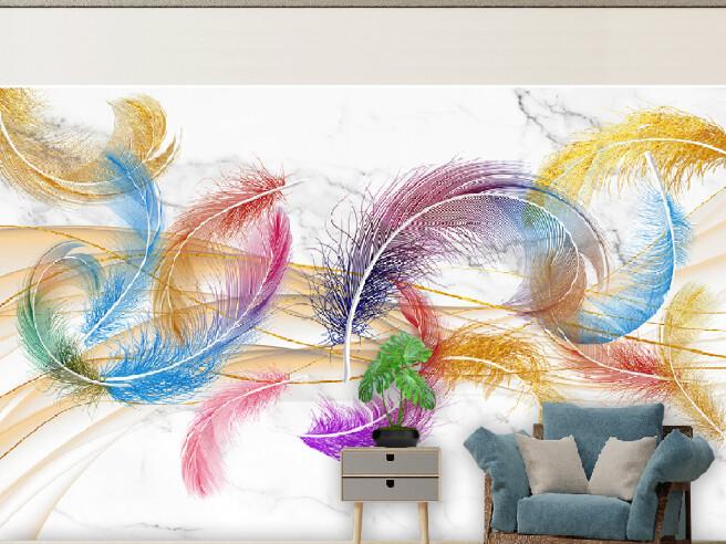 Круглые перья