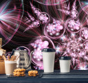 Фотообои Иллюзорные цветы
