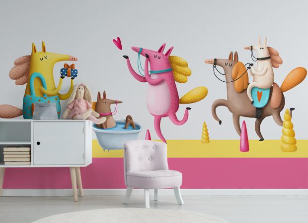 Пластилиновые лошади