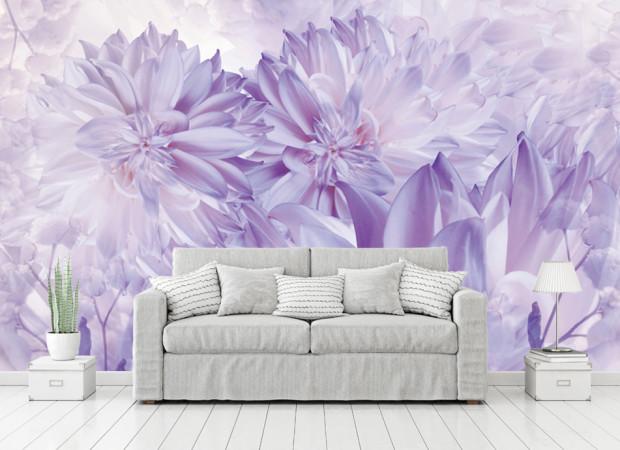 мягкий фиолет