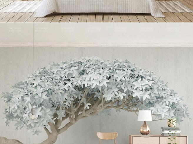 Фотообои Дерево из африканской саванны
