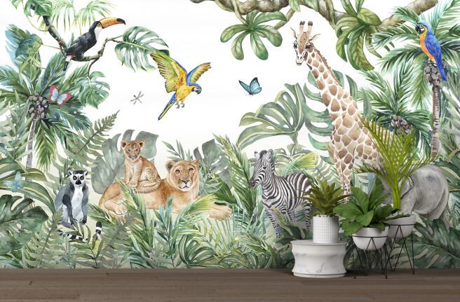 звери из джунглей