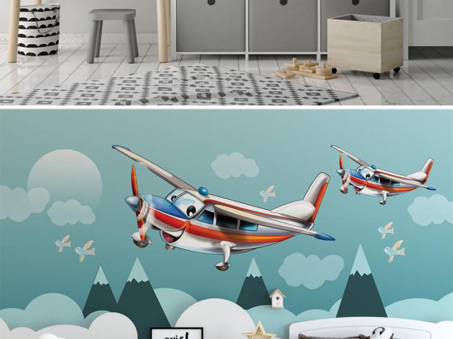 Веселый самолетик