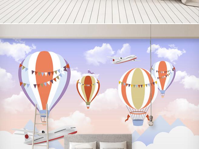 Воздушные шары и боинги