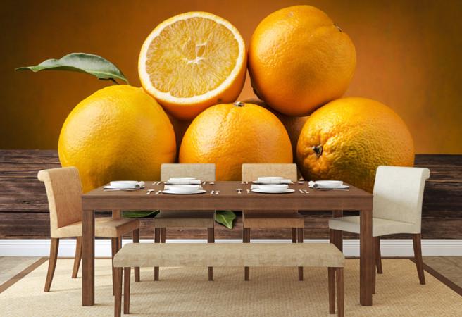Фотообои апельсины