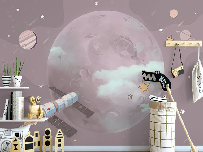 Спутник на орбите Луны