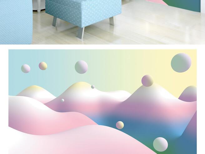 Горы и шары