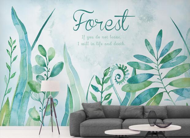 Лес-огромный дом